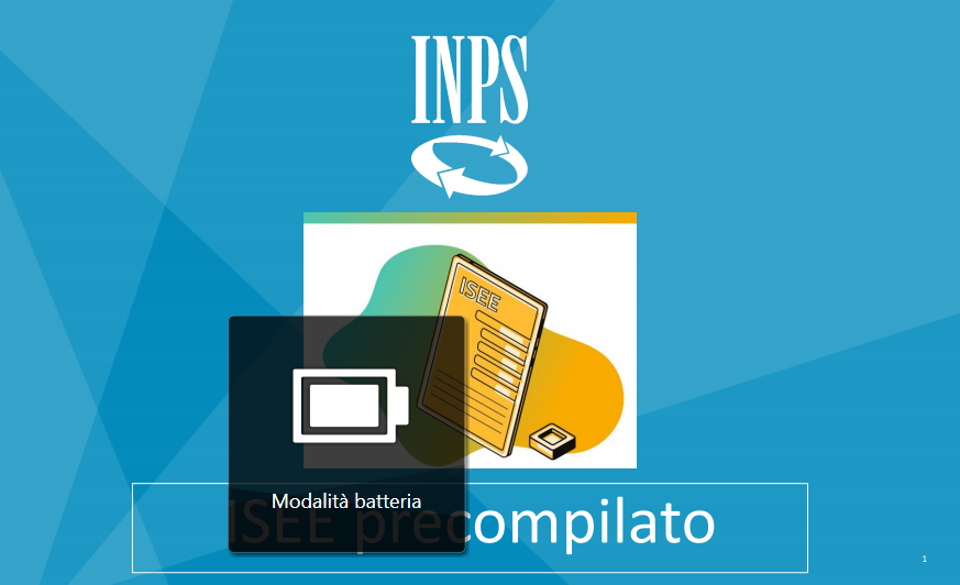 Inps_ISEE Precompilato 2021