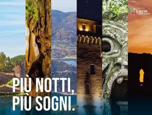"""Regione Lazio – Avviso Pubblico """"Piu' notti piu' sogni"""""""