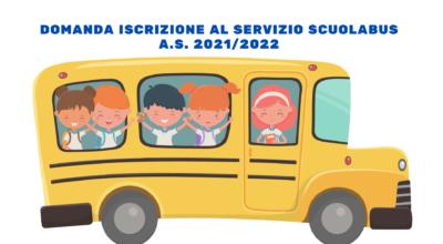 Domanda di iscrizione al servizio scuolabus  A.S. 2021/2022