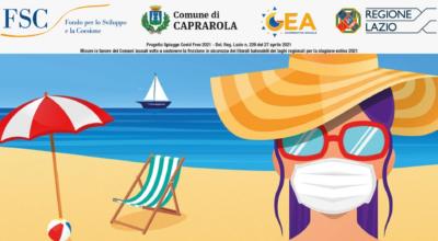 Regione Lazio – Spiagge Covid Free 2021